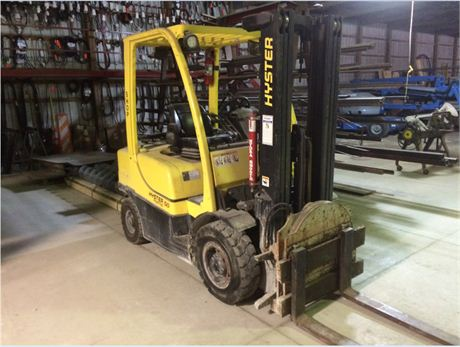 DuPont Pioneer Equipment Sales 2010 Hyster H50FT Unit